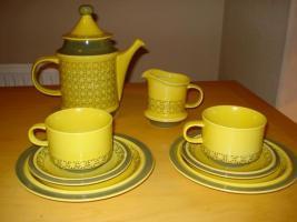 Oslauer Porzellan Manufacture Toskana Kaffee / Tee Service