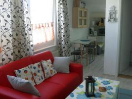 Wohnbereich in der Ferienwohnung Matrose