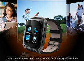 Ourtime X01S 3G Smartwatch 4Core GPS SIM