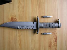 Foto 4 Outdoor/ Survivalmesser `Buckmaster 184