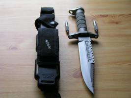 Foto 7 Outdoor/ Survivalmesser `Buckmaster 184