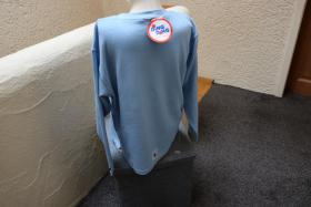 Foto 3 #Oversize-Strickshirt m. Stick u. Appl., Gr. 152, #hellblau, #NEU, #Ding Dong