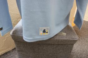 Foto 4 #Oversize-Strickshirt m. Stick u. Appl., Gr. 152, #hellblau, #NEU, #Ding Dong