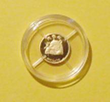 PANDA-BÄR - kleinste Goldmünze der Welt - Rarität