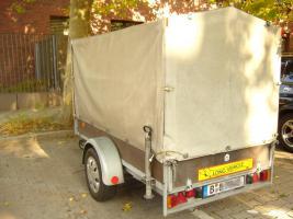 Foto 3 PKW Anhänger 1300 kg mit Plane TÜV Neu