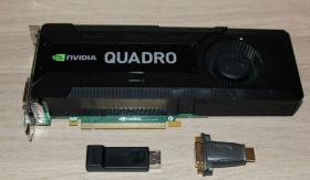 PNY NVIDIA Quadro K5000 (4096 MB) (VCQK5000MAC-PB) Grafikkarte
