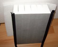 Foto 2 PRE Pufferspeicher 500 Liter zwei Wärmetauscher, mit Isolierung. Für Heizung, Heizkessel, Kamin, Ofen, Solarthermie. prehalle