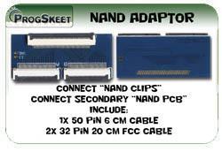Foto 2 PROGSKEET V1.2 NAND / NOR Flash USB Programmer
