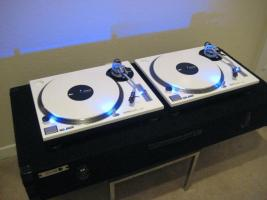 paar 2 wei technics 1200 mk2 dj plattenspieler in. Black Bedroom Furniture Sets. Home Design Ideas