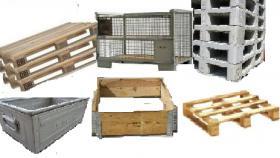 Foto 2 Palettenservice: Paletten, Gitterboxen, Aufsatzrahmen ... - Ankauf u. Verkauf / Palettenreparatur