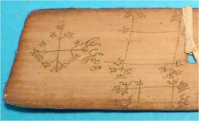 Foto 11 Palmblatt Manuscript, Handschrift, Dokument, Südostasien, Südasien,