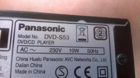 Foto 7 Panasonic DVD/ CD-Player /DVD-S 53/ Up-Conversation 1080p
