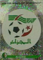 Panini Sticker WM 2010   Australien Zeichen Nr. 278 + Algerien Zeichen Nr. 221