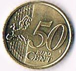Foto 2 '' Papst Benedikt XVI. '' Vatikan Original 50 Euro Cent Kursmünze '' 2010 '' Stempelglanz ! !