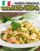 Pasta Artischocken Scampi Rezept original italienisch