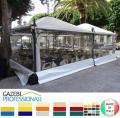 Pavillon Café Restaurant Cristal neu personalisierte Farben 4x5