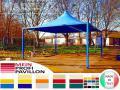 Pavillon Gartenzelt Dach Neu völlig personalisiert Café Pvc 3x5