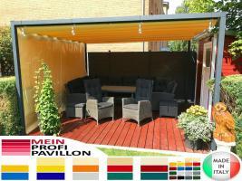 Foto 2 Pavillon Laube Schiebedach neu personalisierte Farben Zelt 6x5 Café Restaurant Stahl alle Farben fließende