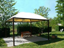 Pavillon Profi Zertifikat Personalisiert PVC Sonnensegel 5x5