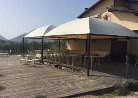 Foto 3 Pavillon Profi Zertifikat Personalisiert PVC Sonnensegel 5x5