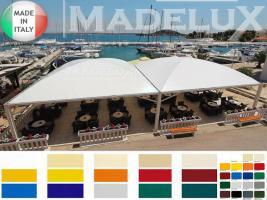 Foto 4 Pavillon Profi Zertifikat Personalisiert PVC Sonnensegel 5x5