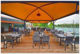 Pavillon Stahl personalisierte Farben professionell neu Zelt 5x5