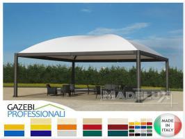 Foto 2 Pavillon Stahl personalisierte Farben professionell neu Zelt 5x5