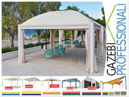 Foto 3 Pavillon Stahl personalisierte Farben professionell neu Zelt 5x5