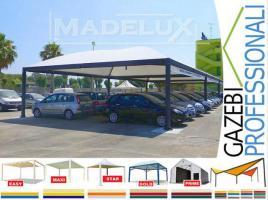 Foto 4 Pavillon Stahl personalisierte Farben professionell neu Zelt 5x5