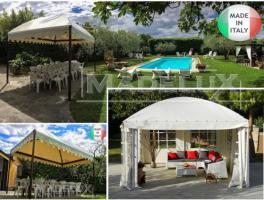 Foto 3 Pavillon Stahl personalisierte Farben professionell neu Zelt 6x6