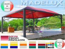 Pavillon Zelt Stahl personalisierte Farben neu professionell 7x7 Garden Café Hotel Restaurant