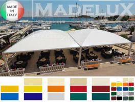 Foto 2 Pavillon Zelt Stahl personalisierte Farben neu professionell 7x7 Garden Café Hotel Restaurant