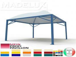 Foto 8 Pavillon Zelt Stahl personalisierte Farben neu professionell 7x7 Garden Café Hotel Restaurant