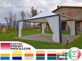 Pavillon Zelt Stahl personalisierte Farben professionell neu 4x4 Garden Café Hotel Restaurant