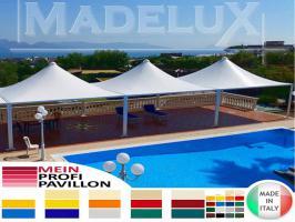 Foto 2 Pavillon Zelt neu personalisierte Farben zertifiziert neu Café Hotel 5x5