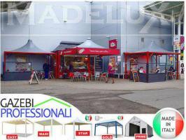 Foto 4 Pavillon Zelt neu personalisierte Farben zertifiziert neu Café Hotel 5x5