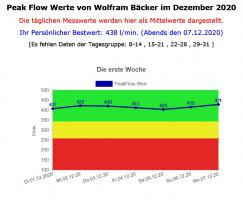 PeakFlow V. 4.0 - Programm für Asthmatiker