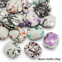 Foto 2 Perlen Glasperlen Acrylperlen Holzperlen Fimo Schmuckgestaltung Ketten Basteln Kreativ Angebot