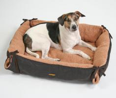 Pet-Star Hundebett NEVADA 72 cm  Schwarz