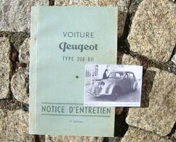 Foto 2 Peugeot 203 Betriebsanleitung (1954)