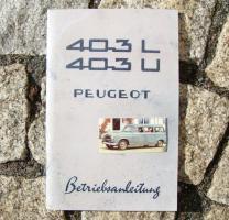 Foto 5 Peugeot 203 Betriebsanleitung (1954)