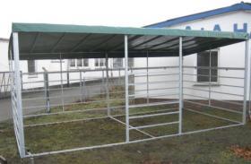 Pferde Pultdach Panel-Unterstand 4/6m ab 799, -€