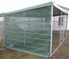 Foto 3 Pferde Pultdach Panel-Unterstand 4/6m ab 799, -€