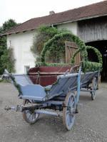 Pferdekutsche  (Leiterwagen)