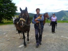 Foto 8 Pferdetrekking, Wanderreiten, Reitferien, Mehrtagestzouren für Erwachsene