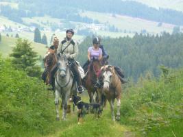 Foto 9 Pferdetrekking, Wanderreiten, Reitferien, Mehrtagestzouren für Erwachsene