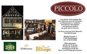 Piccolo Bar in Sindelfingen