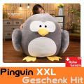 Pinguin Plüsch XXL Plüschtier Kuscheltier Plüschpinguin Geschenk Kind Freundin Weihnachten 100x100cm Süss Herzig Jumbo Geschenkidee Schweiz