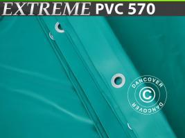 Plane 8x10m PVC 570 g/m² Grün