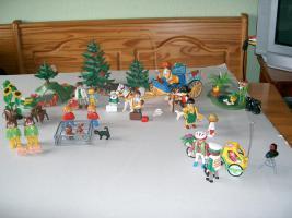Foto 4 Playmobil, Mama, Baby, Hund, Katze, Maus, Pferd, Ente